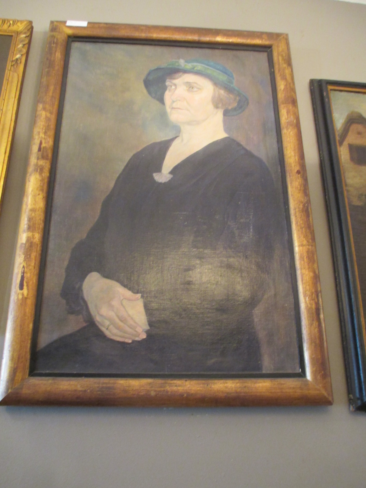 Portrait de dame Image