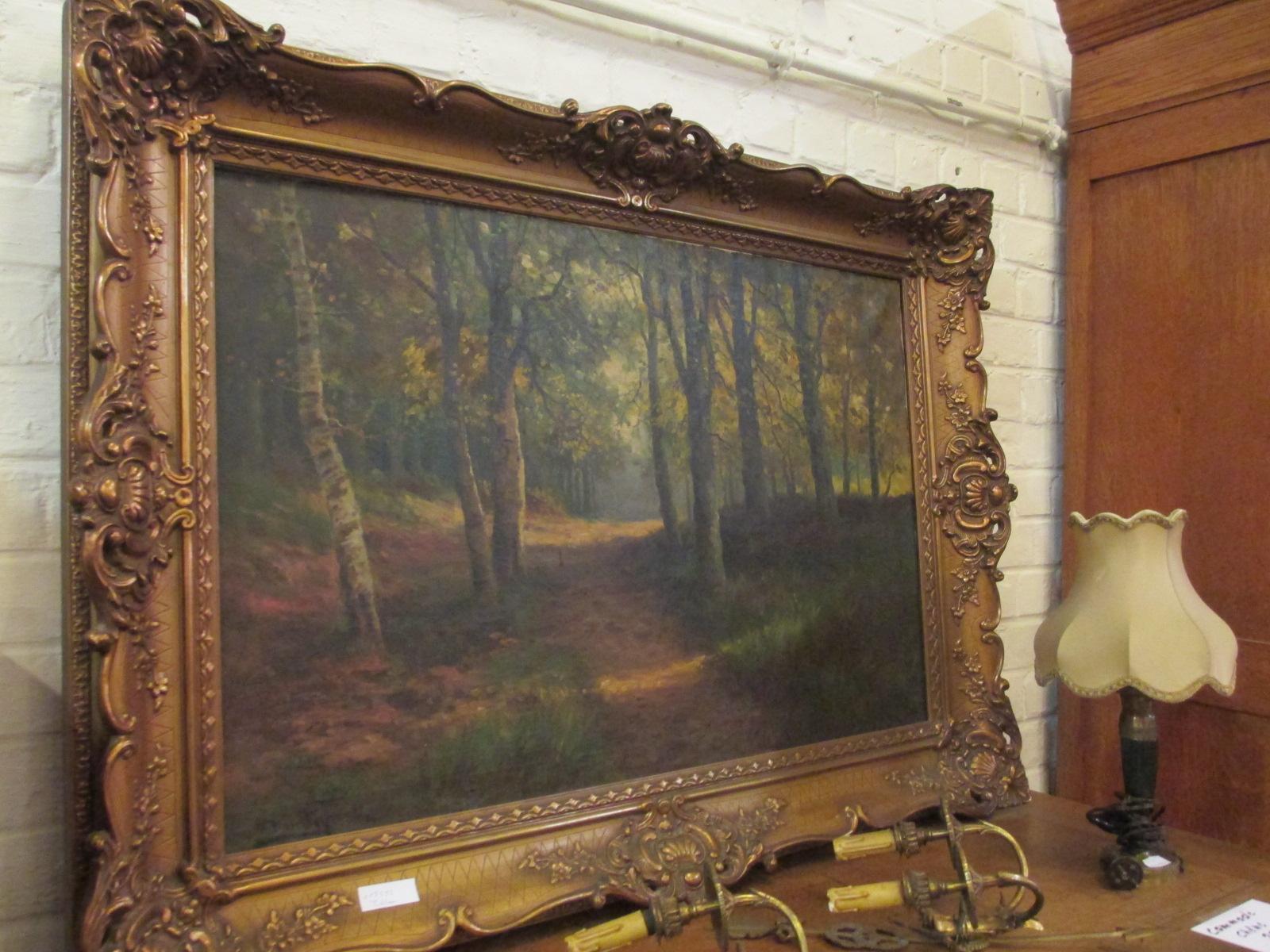 Tableau sous bois Image