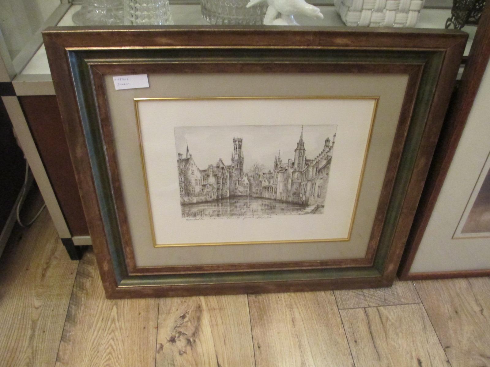 gravure Brugge Image
