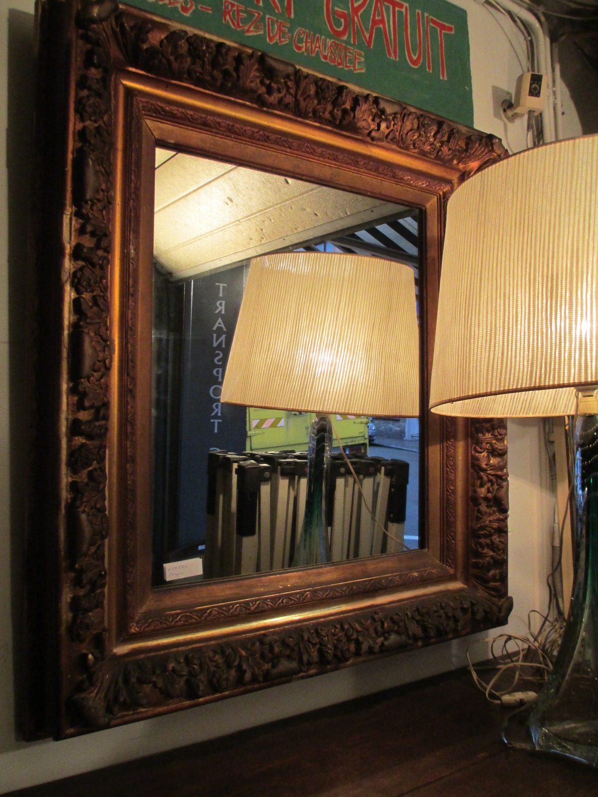 Miroir doré Image
