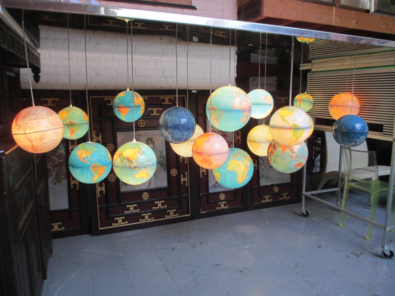 Lustre Mape Monde Image