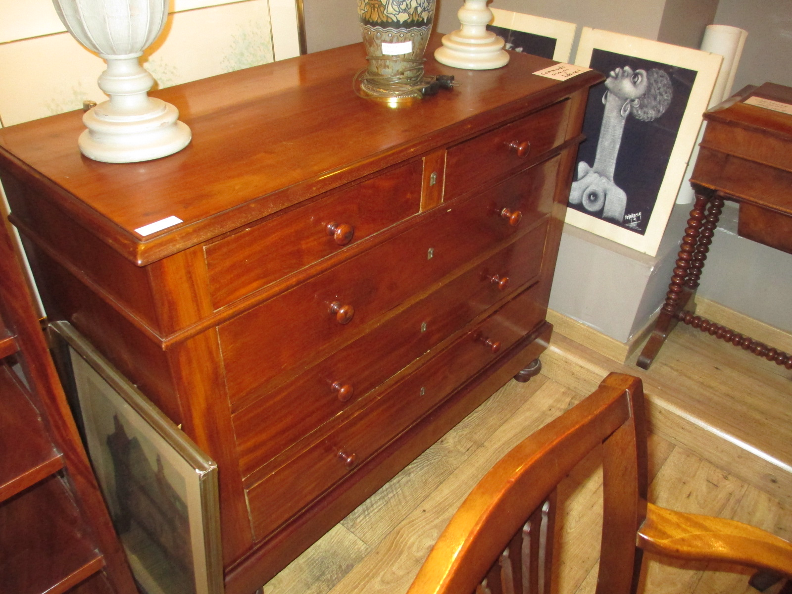Commode acajou Image