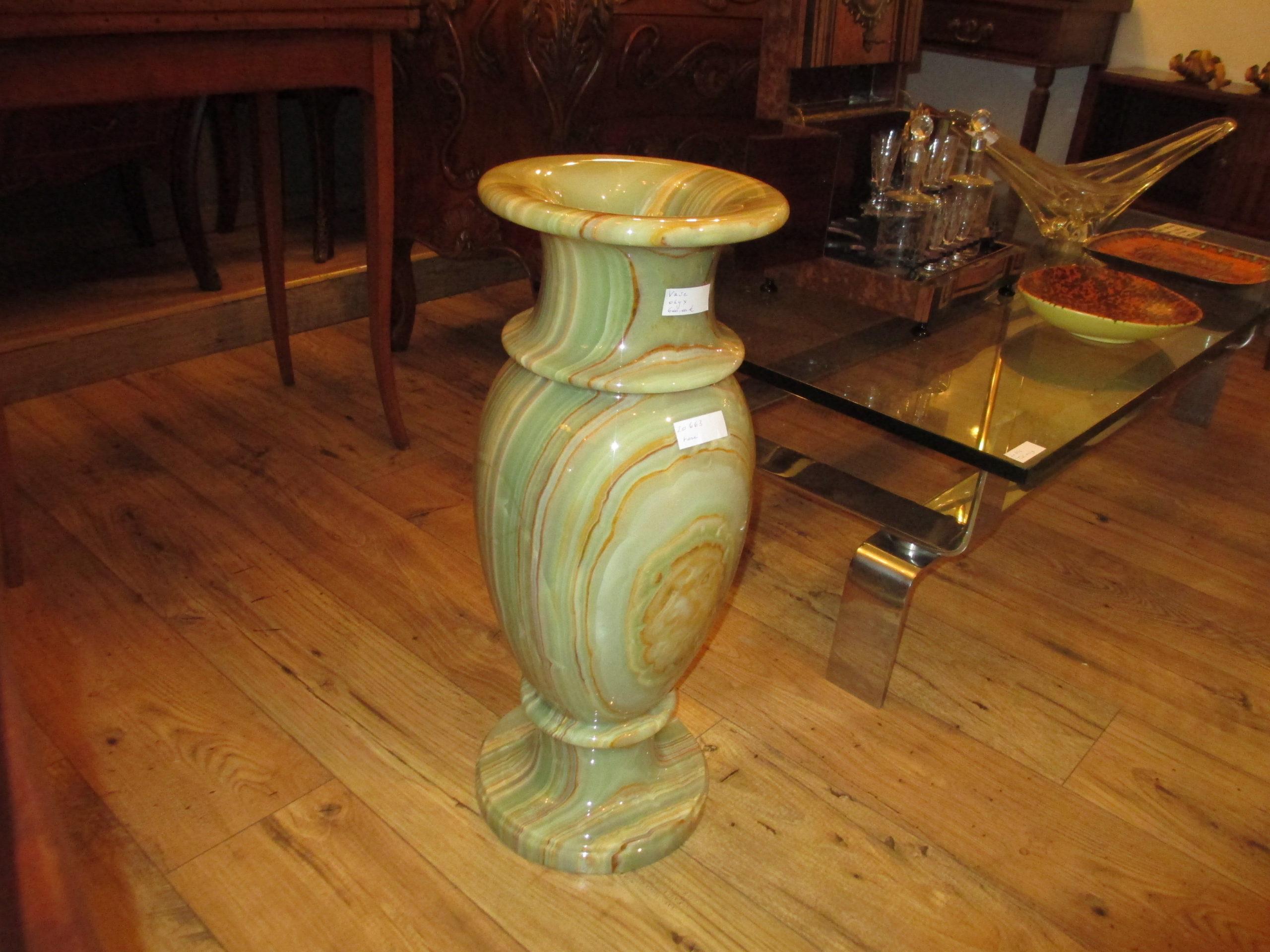 Grand vase en onyx Image