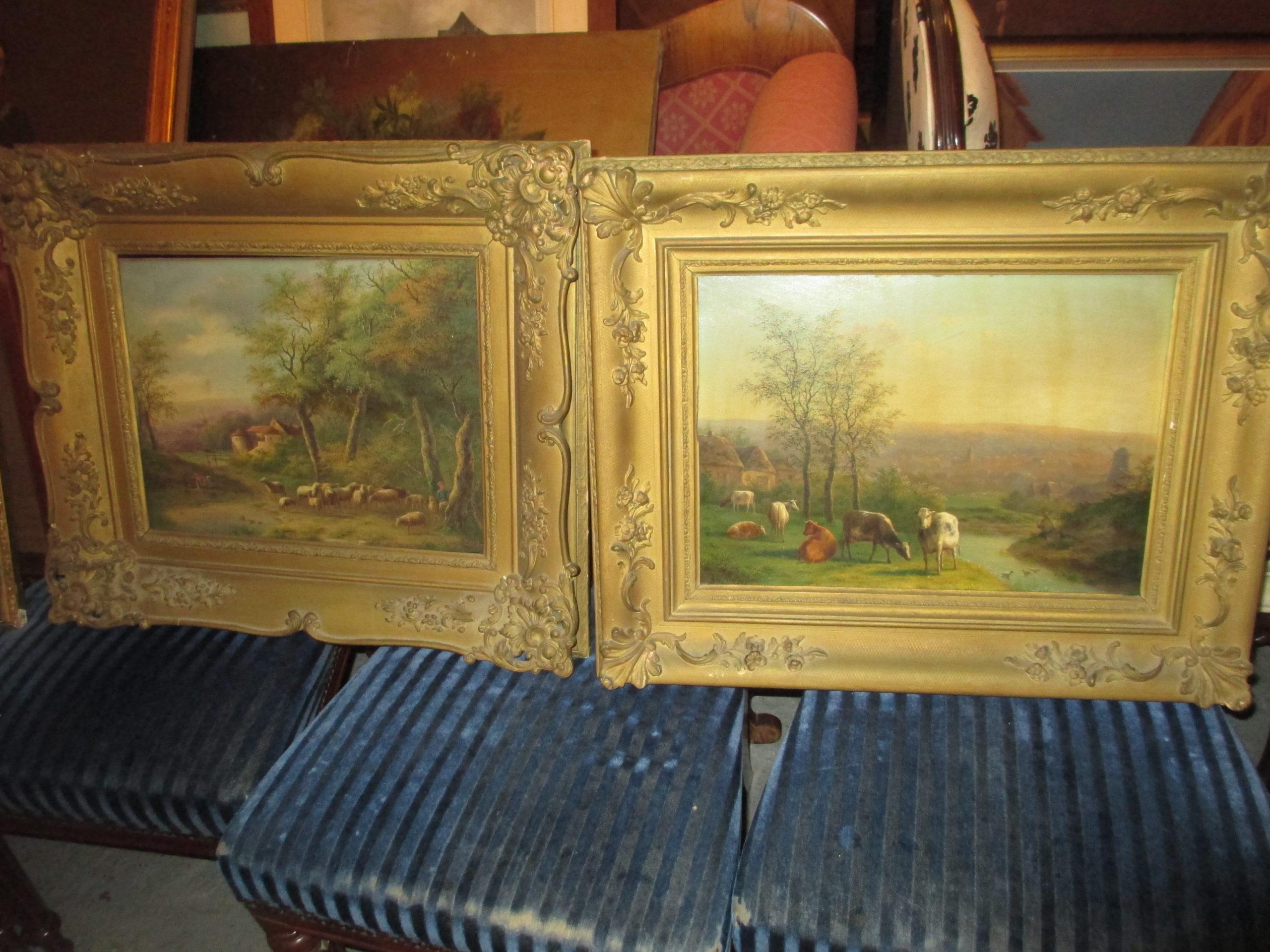 Paire de tableaux 19 ième Image
