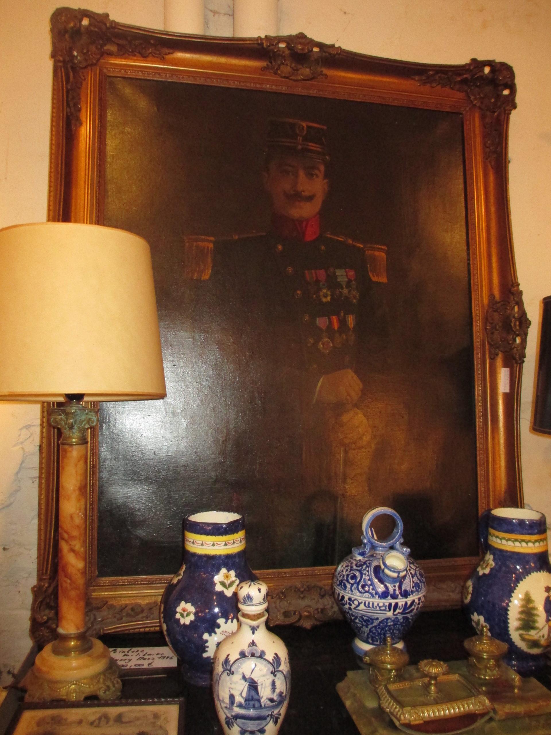 Portrait militaire signé Harry Maas Image
